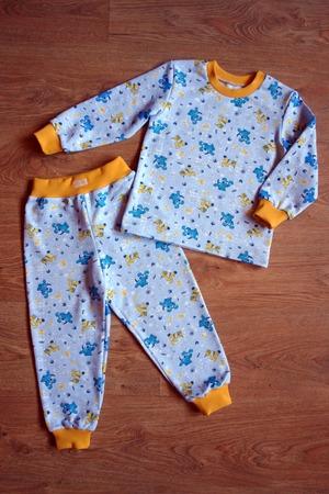 Фото. Пижама из футера-двунитки с начесом. Автор работы - ZabavaMasya