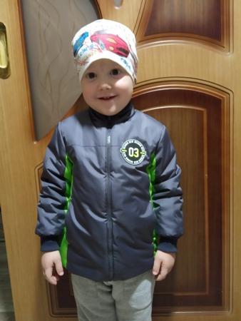Фото. Куртка ребенку.   Автор работы - MSvetLanka