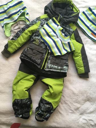Фото. Комплект: куртка, штаны, шапка (2!) и манишка. Автор работы - passat66