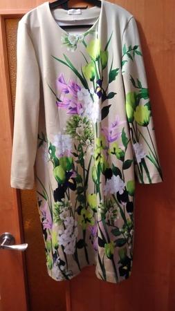 Фото. Платье из купонного футера 2-х нитки.   Автор работы - Grafinyaa