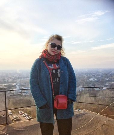 Фото. Пальто Jacqueline by Natalia Aksyonova.   Автор работы - свч