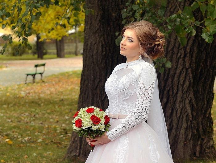 Фото. Болеро для невесты.  Автор работы - Natalo4-ka