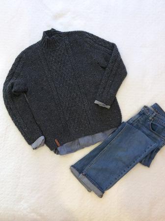 Фото. Мужской свитер Hugo от Бруклина.   Автор работы - Анжи