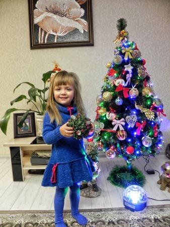 Фото. Платье для дочки.    Автор работы - Кошелева