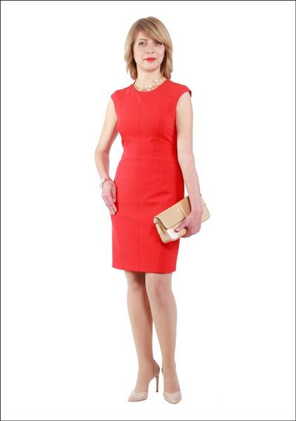 Комплект №4 . Платье – Karen Millen. Туфли и клатч – Carlo Pazolini