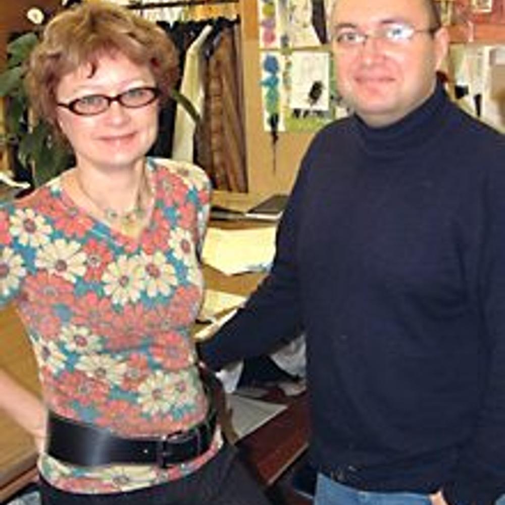Людмила Мезенцева и Артур Тамаров