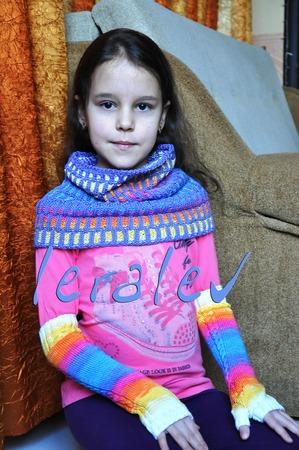 Фото. Снуд INSPIRA COWL. Пряжа - Alize Diva batik.  Автор работы - leralev