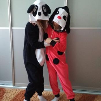Фото. Теперь это Панда и Божья Коровка!  Автор работы - mova