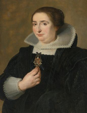 Фото. Корнелис Де Вос (1584–1651). Женский портрет.