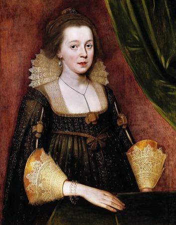 Фото. Пауль ван Сомер (1577-1621). Портрет знатной дамы.