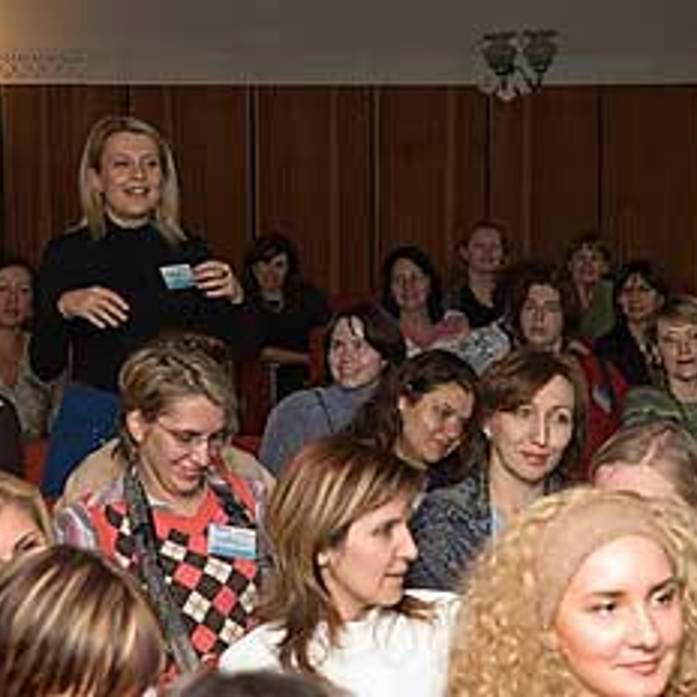 Участницы встречи осинок-2007 не только внимательно слушают, но и с удовольствием задают вопросы Александру Васильеву!