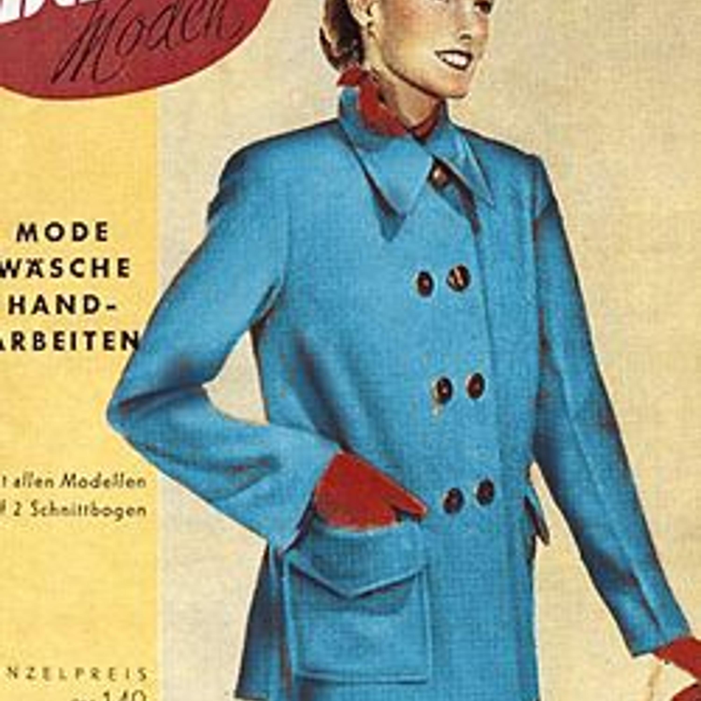 Обложка первого номера Burda, январь 1950 г.