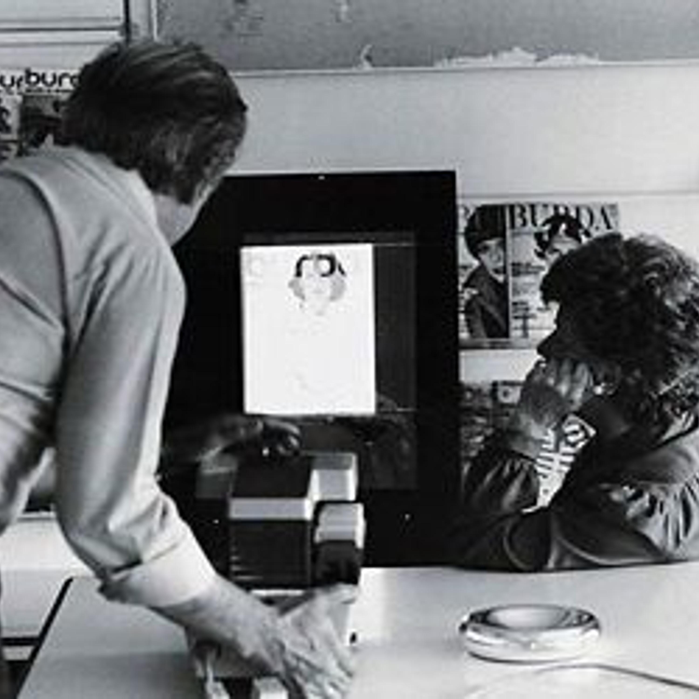 Совместная работа над обложкой с художником-графиком Освальдом Мозером, одним из первых сотрудников  нового издательства.