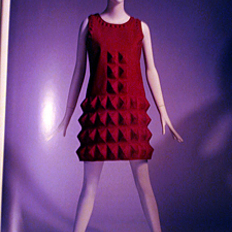 """Фото 11. Платье """"яичная коробка"""". Кардин цвета фуксии. 1968 г."""