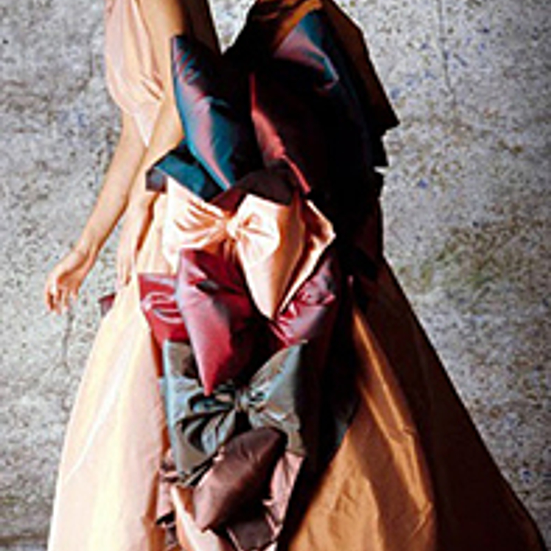 Фото 27. Платье. Тафта. 1980-е гг.