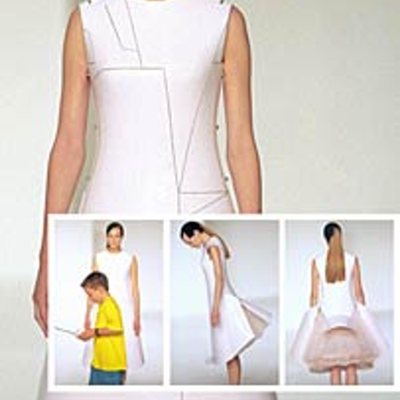 Фото 21. Before minus now Collection, платье Remote Control Dress, весна-лето, 2000 г.