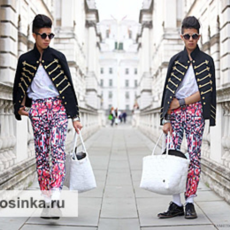 Неделя моды в Лондоне, Сомерсет Хаус, коллекция Lulu Liu, 2012 г.