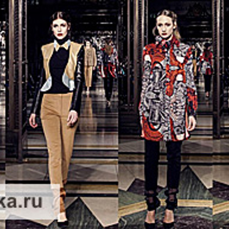 Неделя моды в Лондоне, показ Lulu Liu, AW 2013