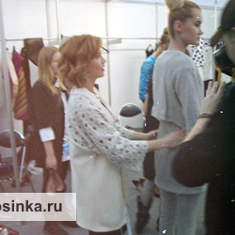 Volvo Fashion Weel SS13 в Москве. Backstage.