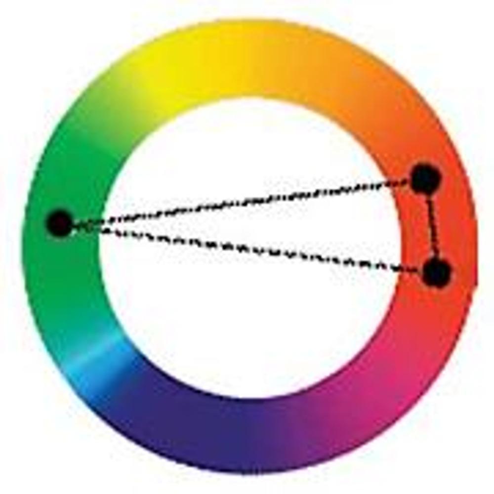 2. Гармония прямоугольника треугольника
