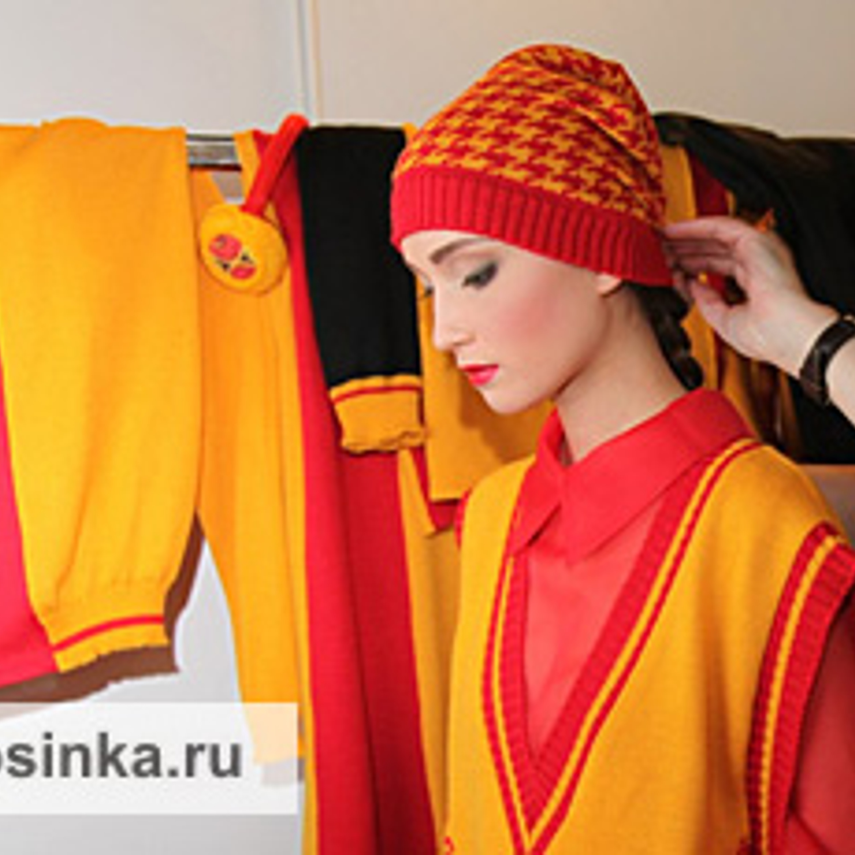 Mercedes-Benz Fashion Week Russia - последние приготовления перед показом.