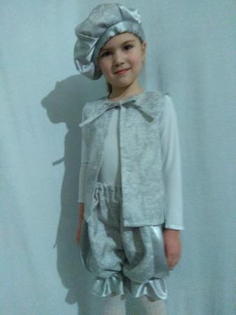 Фото. Еще один костюм принца... Этот  - уже из собственных  запасов  креп-сатина и жаккарда. Еще в комплект планируется пышная рубашка.