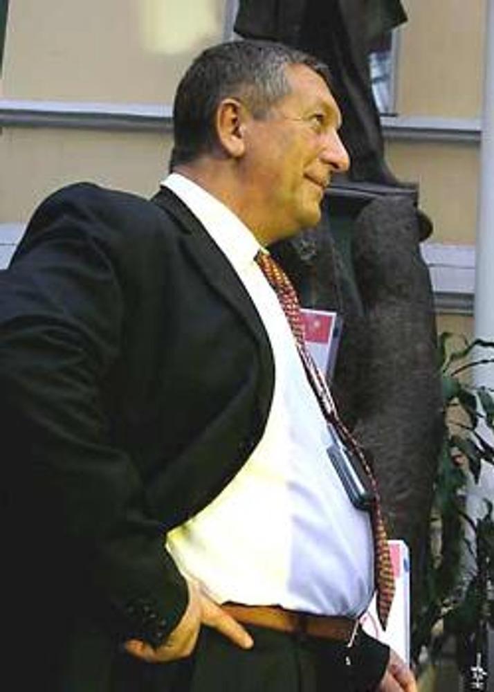 Фото. Боpовой Константин, бизнесмен в типичном стиле.