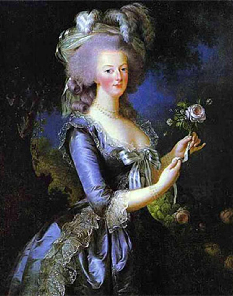 """Луиза-Елизавета Виже-Лебрен """"Мария Антуанетта"""", конец XVIII века"""