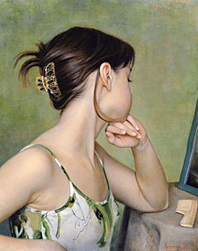 """Слава Грошев """"У зеркала"""". 2006"""