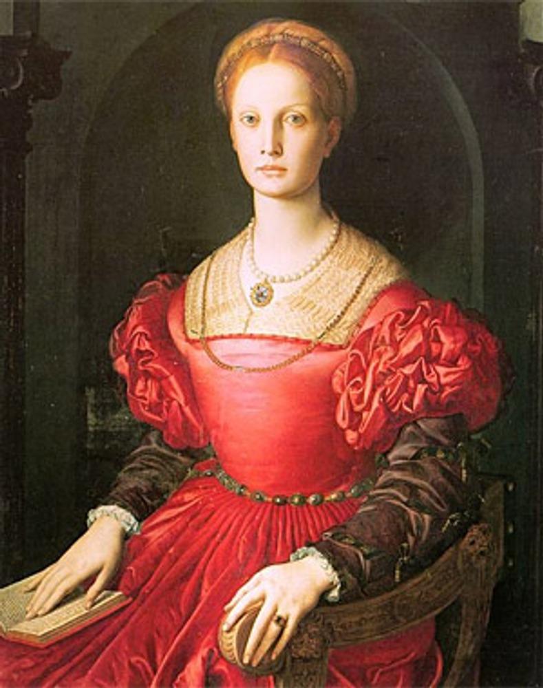 "Аньоло Бронзино ""Лукреция Панчиатичи"", 1540 г."