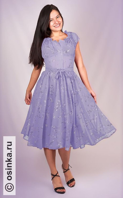 Осинка выкройки платьев для полных фото 223