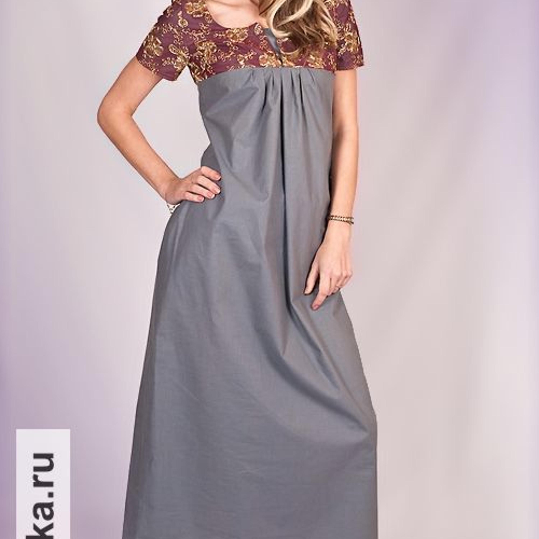 Платье. Burda 11/1966. Такое вечернее платье надо уметь носить! Кружевная кокетка с небольшим обтачным разрезом и короткие узкие рукава эффектно сочетаются со слегка расклешенным платьем-колоколом длиной макси, изящно присборенным на груди.