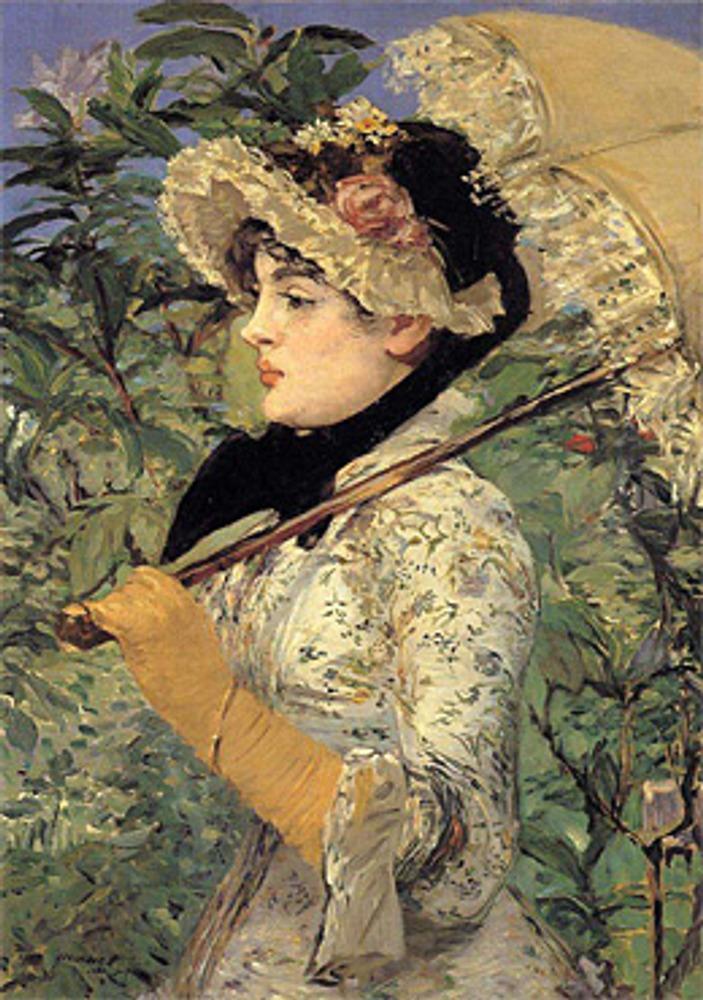 """Эдуард Мане. """"Весна Жанна"""". 1881."""