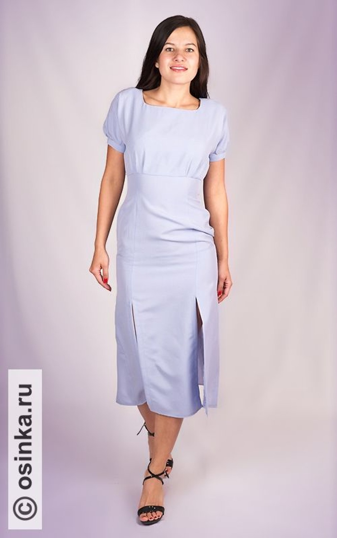 5cb920280e0 Платье. Burda 5 1993. Модный нюанс 90-х - юбка с вертикальными