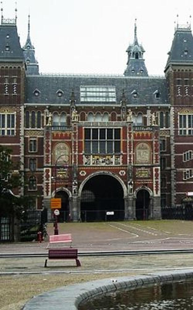 Фото. Государственный музей (Рейксмузеум), Амстердам, Нидерланды.
