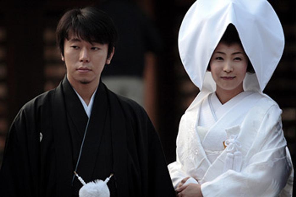 Фото. Японская свадьба.