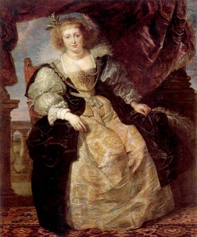 """Питер Пауль Рубенс """"Портрет Елены Фоурмен в свадебном одеянии"""". Около 1630-1631. Старая Пинакотека. Мюнхен."""