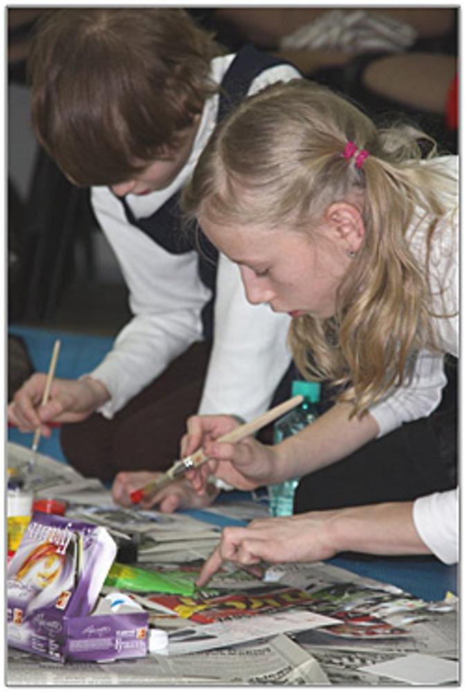 Фото: Занятия рисованием нужно правильно организовать, тогда они будут приносить удовольствие и радость.