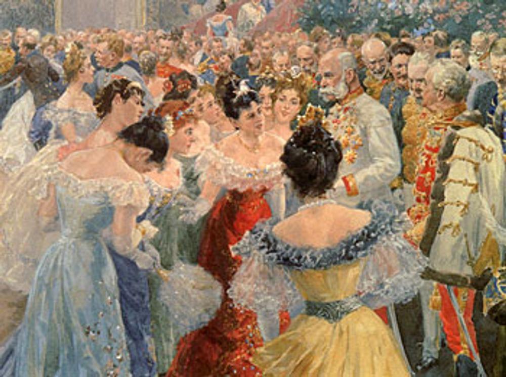 """Фото. Д.Н. Кардовский. """"Бал в петербуржском дворянском собрании"""", 1913."""