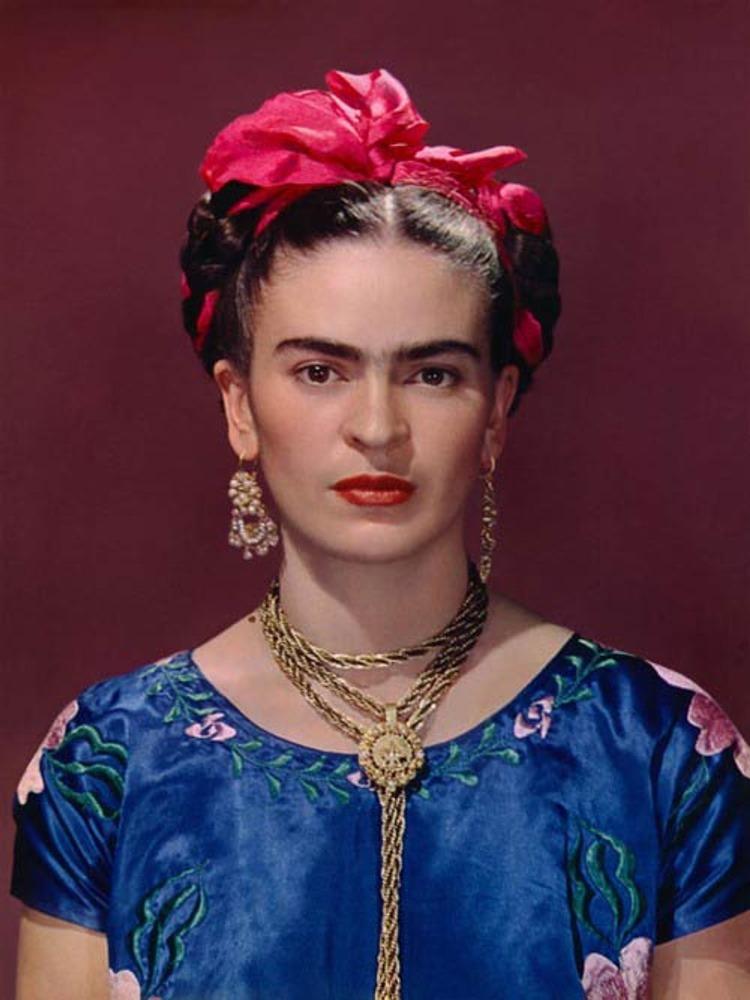 Фото 25. Фрида Кало. Эта женщина знала толк в контрастах.