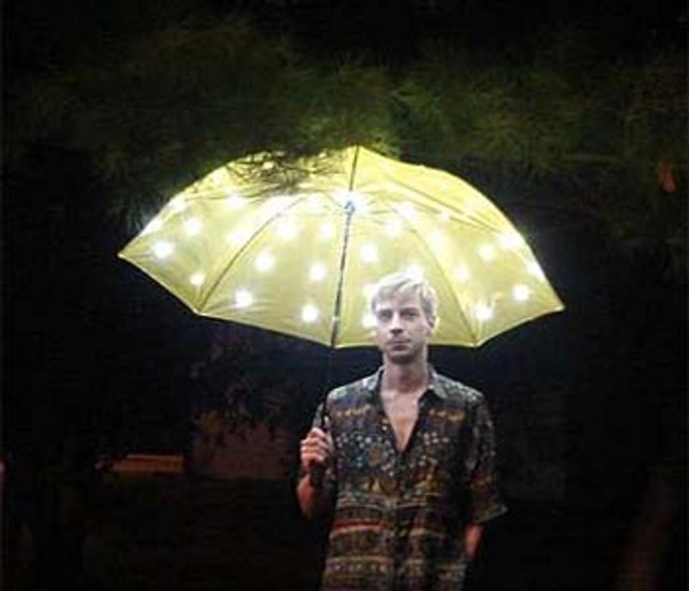 Фото 7. Электрический зонтик Diy (DIY Electric Umbrella), с ним вы не заблудитесь в темноте.