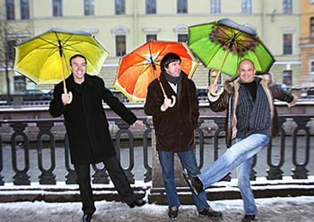 Фото 3. Фруктовый зонт - лучший антидепрессант в промозглые осенние дни.