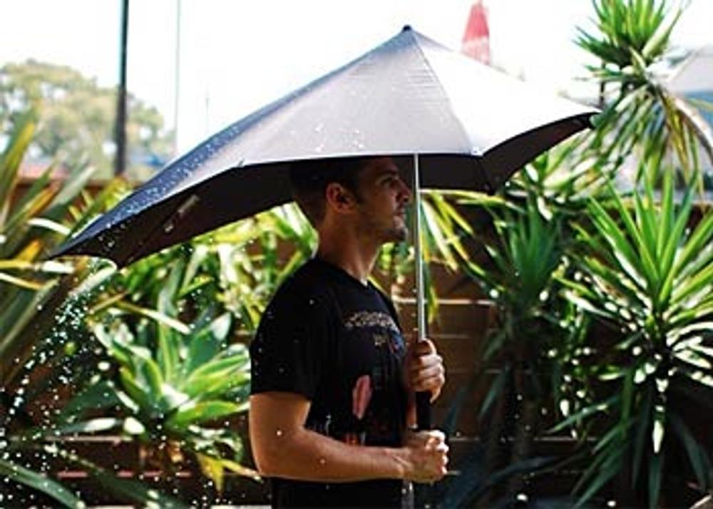 Фото 11. Зонтик SENZ - торжество аэродинамики.