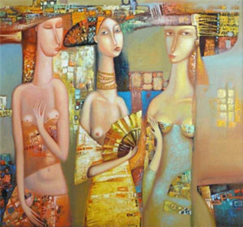 """Фото. """"Три грации"""". А. Сулимов, 2011 г.,  Тольятти."""