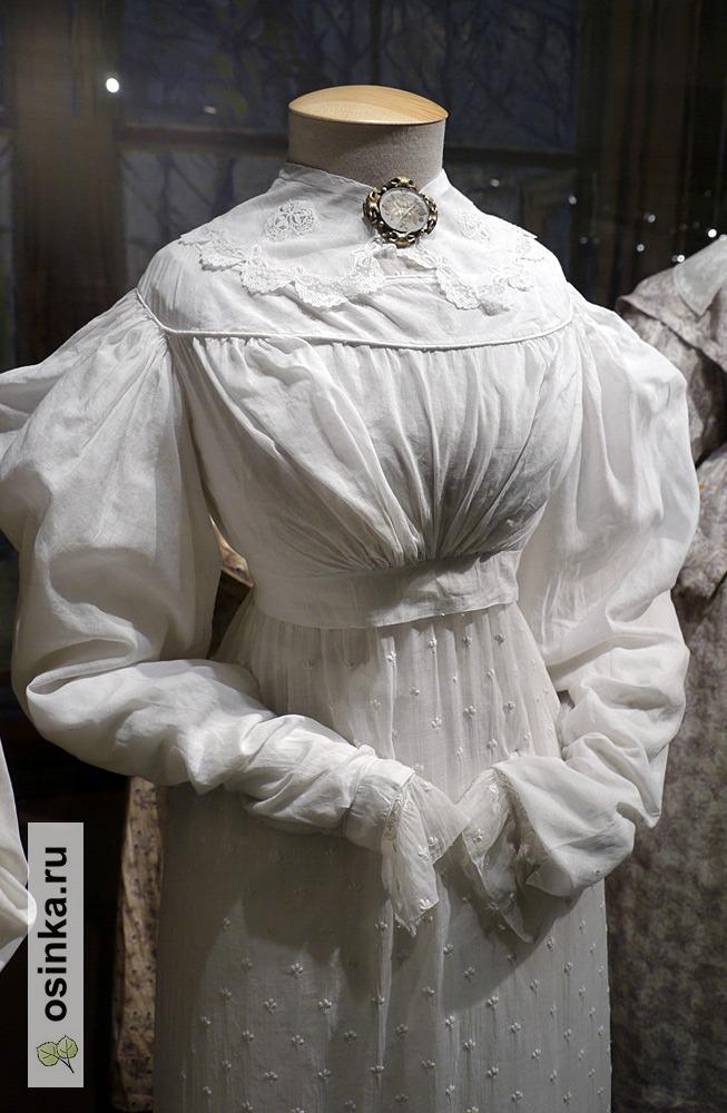 Фото. Спенсер, х/б ткань, Франция, 1820-е гг.