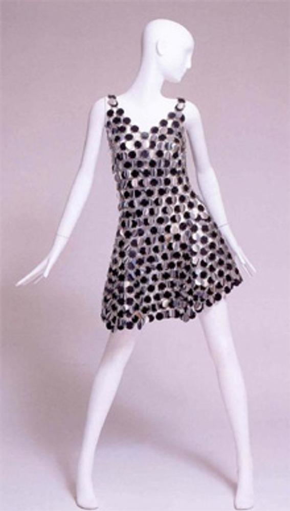 Модель из коллекции Paco Rabanne, 1966 г.