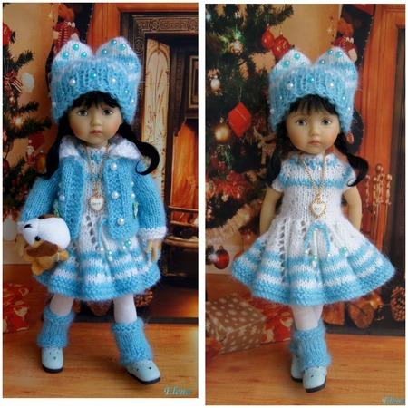 Фото. Большинство подходит к кукольным нарядам довольно серьезно.  Автор работы - Винкс