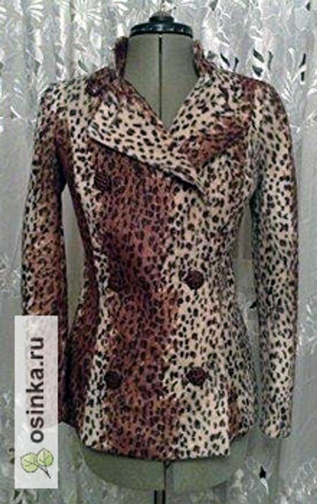 Фото. Жакет-куртка из искусственного меха. Автор: Ori .
