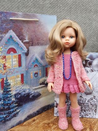 Фото. Костюм для куклы.  Автор работы - Толика