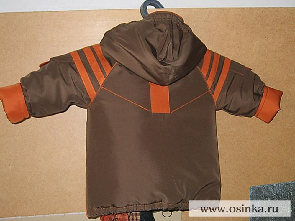 Куртка - вид сзади.
